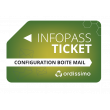 Ticket Infopass mail