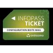 Ticket Infopass mail