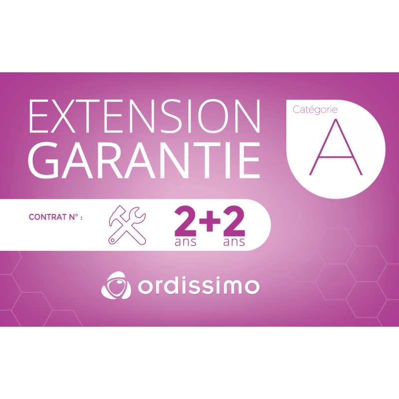 Extension de garantie Cat A 2+2