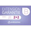 Extension de garantie Cat B 2+2