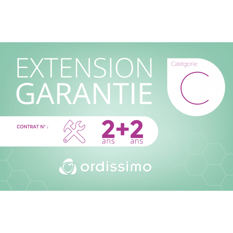 Extension de garantie Cat C 2+2