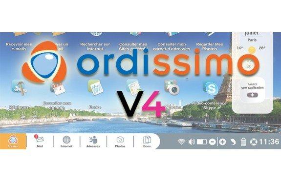 La Version 4 (V4 ) Ordissimo est disponible !