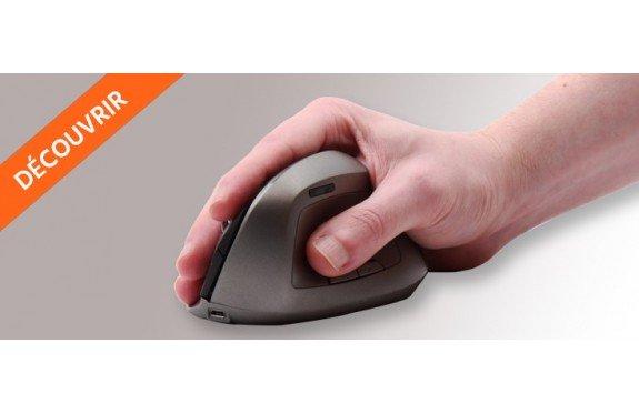 Découvrir la souris ergonomique verticale de bureau